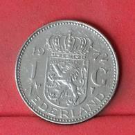 NETHERLANDS 1 GULDEN 1972 -    KM# 184a - (Nº22985) - [ 3] 1815-… : Kingdom Of The Netherlands