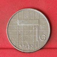 NETHERLANDS 1 GULDEN 1983 -    KM# 205 - (Nº22986) - [ 3] 1815-… : Kingdom Of The Netherlands