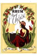 969- ETIQUETTE DE RHUM  STE THERESE   ETS Vve VERNHES - Rhum