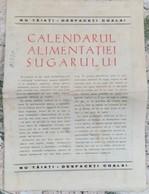 ROMANIA-BABY ALIMENTATION CALENDAR/PLAN - Calendars