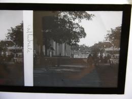 LA REUNION SAINT DENIS LA CATHEDRALE PHOTO PLAQUE DE VERRE STEREO 13 X 6 - Glass Slides