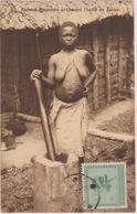 CONGO-BELGE - FEMME MAYUMBE PREPARANT L'HUILE De PALME - 1925 - Congo Belge - Autres