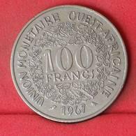 WEST AFRICAN STATES 100 FRANCS 1967 -    KM# 4 - (Nº23003) - Monnaies