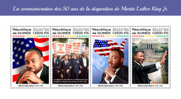 GUINEA 2018 - Martin Luther King. Official Issue - Martin Luther King