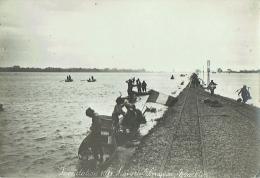 Foto/Grande Photo. Vietnam. Inondation 1911. Ligne De Langson. Yen Vien. - Lieux