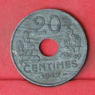 FRANCE 20 CENTIMES 1942 -    KM# 900,2 - (Nº23006) - France