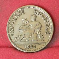 FRANCE 50 CENTIMES 1924 -    KM# 884 - (Nº23008) - France