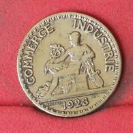 FRANCE 50 CENTIMES 1923 -    KM# 884 - (Nº23009) - France