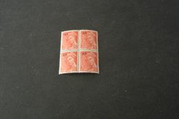 FR796-bloc De 4  MNH  France  1944  - SC. 500 - YV.658 - Overprinted Rf - Mercury - Mercure  - 30c Rose Red - 1938-42 Mercure