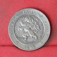 BELGIUM 5 CENTIMES 1862 -    KM# 21 - (Nº23017) - 1831-1865: Léopold I.