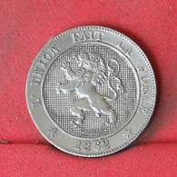 BELGIUM 5 CENTIMES 1862 -    KM# 21 - (Nº23017) - 03. 5 Centimes