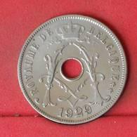 BELGIUM 25 CENTIMES 1929 -    KM# 68,1 - (Nº23018) - 1909-1934: Albert I