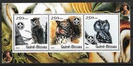 GUINEA - BISSAU 2001 Eagle/owls - Owls