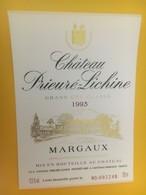 8343 - Château Prieuré-Lichine 1993 Margaux - Bordeaux