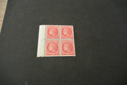 FR807- Bloc De 4 Avec Vignette    MNH  France  1945 - SC. 532- YV. 676 - Ceres 1Fr - - 1945-47 Cérès De Mazelin