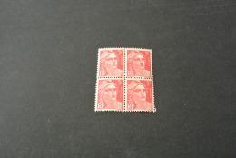 FR829-bloc De 4 MNH  France  1945 - SC. 540 -YV. 716 - Marianne   - 3FR. - 1945-54 Marianne Of Gandon