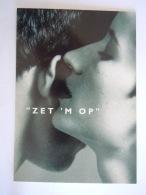 Paar Couple  Zet 'm Op Campagne Gebruik Condoom Preservatif Contre IST/sida Pub Boomerang - Health