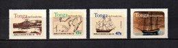 Tonga   1981  .-   Y&T  Nº    484/487 - Tonga (1970-...)