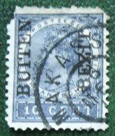 BUITEN BEZIT Overprint 10 Ct Wilhelmina NVPH 88 1908 Gestempeld / USED NEDERLANDS INDIE / DUTCH INDIES - Netherlands Indies