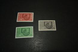 FR935-set MNH  France  1966- SC. 2O6-2O8- Unesco - UNESCO