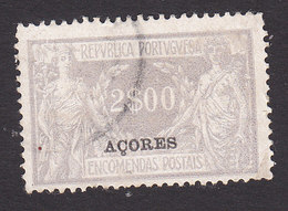 Azores, Scott #Q13, Used, Parcel Post Overprinted, Issued 1921 - Açores