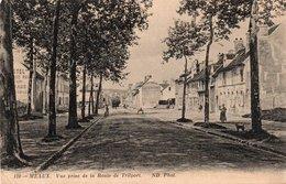 MEAUX-vue Prise De La Route De Trilport - Meaux