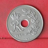 DENMARK 25 ORE 1967 -    KM# 855,1 - (Nº23022) - Denmark