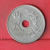 DENMARK 25 ORE 1972 -    KM# 855,2 - (Nº23023) - Denmark