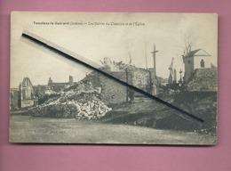 CPA-   Templeux Le Guérard -(Somme) - Les Ruines Du Cimetière Et De L'église - Sonstige Gemeinden