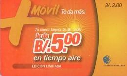TARJETA TELEFONICA DE PANAMA (PREPAGO). PAN-C&W-219aa (007) - Panamá