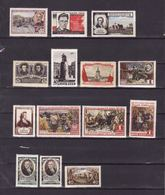 Russie   Lot De Timbres Neufs Avec Charnière   Année 1955    Côten Yvert 2003  :  48.75 € - 1923-1991 URSS