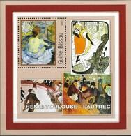 "GUINEA - BISSAU 2001 Post - Impressionisme ""Henri Toulouse - Lautrec"" - Impresionismo"