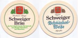 #D205-001 Viltje Schweiger Bräu - Sous-bocks