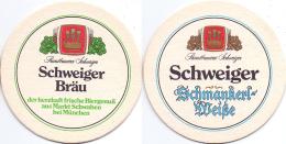 #D205-002 Viltje Schweiger Bräu - Sous-bocks