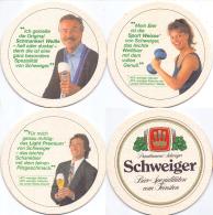 #D205-004 Reeks Viltjes Schweiger Bräu - Sous-bocks