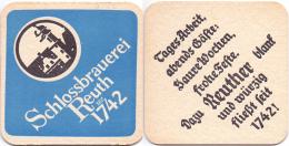 #D205-007 Viltje Schloßbrauerei Reuth - Sous-bocks