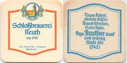 #D205-008 Viltje Schloßbrauerei Reuth - Sous-bocks