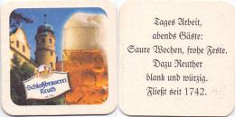 #D205-010 Viltje Schloßbrauerei Reuth - Sous-bocks