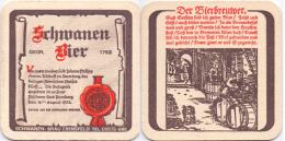 #D205-019 Viltje Schwanen Bräu Ebensfeld - Sous-bocks