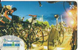 BRAZIL(Brasil Telecom) - Iron Man, Triathlon Florianopolis 2005, 05/05, Used - Sport