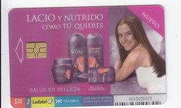Mexico Phonecard LADATEL TELMEX SEDAL Hair Care Products Transparent Card No Credit Used - Mexico