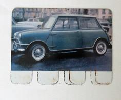 Plaque Métal Voiture Morris COOPER L'auto à Travers Les âges COOP 1964 - Automotive