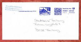 Brief, FRANKIT Francotyp-Postalia 3D050.., Geniesserwanderung Bahlingen, 60 C, 2014 (51860) - BRD