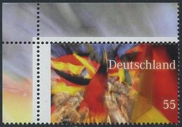 !a! GERMANY 2009 Mi. 2760 MNH SINGLE From Upper Left Corner -Germany - BRD