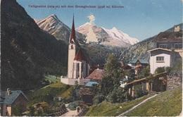 AK Heiligenblut Großglockner Alpen Gletscher Glacier A Wolkersdorf Winklein Winkl Pockhorn Rojach Fleiß Hof Hadergasse - Heiligenblut