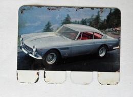 Plaque Métal Voiture Ferrari Gran Turismo 250 L'auto à Travers Les âges COOP 1964 - Automotive