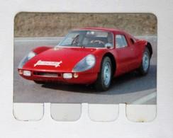 Plaque Métal Voiture Porsche GT 904 L'auto à Travers Les âges COOP 1964 - Automobile