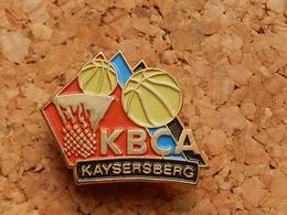 Pin's - BASKETBALL KBCA - KAYSERSBERG HAUT RHIN - Basketball