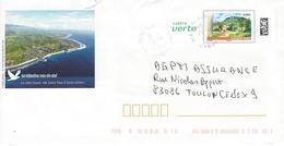 Entier Postal: La Réunion Vu Du Ciel.   (Période Ciappa) - Entiers Postaux