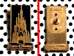 Pin's Disney Château EuroDisney Arthus Bertrand - Disney